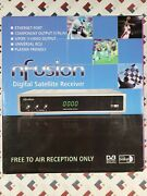 Nfusion Digital Satellite Receiver Free-to-air Receptions New.