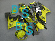 Injection Fairing Airbrushed Bodywork Kit W10 Fit Gsx-r600 Gsx-r750 2004-2005 4