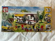 Lego Creator 31052 Vacation Getaways 3-in-1 Rv Boat Cabin New In Sealed Box Nis