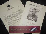 Signed A T Casdagli Prouder Than Ever 2014-1st Pow Diary, British Army Wwii