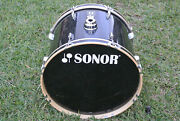 Add This Sonor 1003 Series 22 Bass Drum In Black To Your Drum Set Today M452