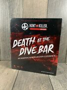 Hunt A Killer Mystery.death At The Dive Bar. Immersive Murder Mystery Experience