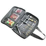 1 Set Fly Fishing Fly Tying Tools Kit In Portable Pack Bag Including Vise Bobbin