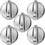 Wb03t10284 Control Knobs 5-pack By Partsbroz
