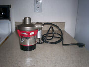 New Teel Model 4rh09 Circulating Pump - 115vac 1/50hp With Stainless Steel Head