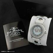 Digimon Adventure Red Monkey First Limited White Belt Silver 925 Watch