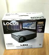 Locus Projector + Screen L1050 Led Android Smart 72 4k 3d Wifi 16.7m Color