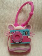 Bath And Body Works Say Cheese Mouse Photographer Holder - Very Rare - Lights Up