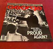 George Jfk/jackie Cover Convention August 2000 Reagan, Proud Again Like New