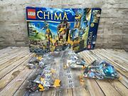 Lego Legends Of Chima The Lion Chi Temple 70010 Incomplete Set