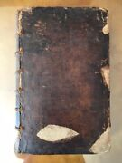 Ussher Chronology. Annals Of The Old And New Testament. Latin 1722 Folio Leather