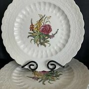 Spode Of England Dinner Plate Rose Heath Pattern Jewel Copeland 10 Inches