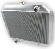 3 Row Core Radiator For Ford F100 F150 F250 F350 Bronco Truck 1966-1979 1973 78
