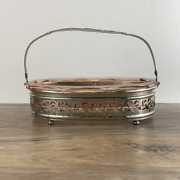 Vintage Pink Glass Divided Relish Tray-pink Depression Ware 1950s Glass