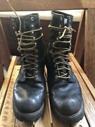 Red Wing Smokejumper Linesman Logger Boots Mens 10