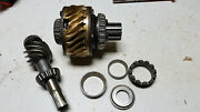 Gravely 5000 Series Differential Assembly Brass Gear And Worm Gear 5660 5665 5260
