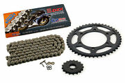 2006 Yamaha Yzf-r1 Sp Cz Dzx X-ring Chain And Silver Sprocket 17/45 120l