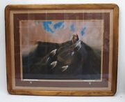 Frank Howell Original Signed Limited Edition Lithograph - Southwest Native Art