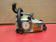 Stihl 011 Avt Vintage Chainsaw Turns Clean Excellent Top End Cases Etc Ws 512