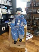 Vintage Nfl Collectible New York Giants Clown Puppet Doll