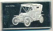 1909 Ford Model T Silver Bar-925 Sterling 1000 Grains-beautiful Ships Free