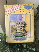 Nib Department 56 Mandmand039s Easter Bunny House Ceramic Lighted House Candy Dish New
