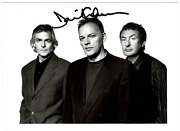 David Gilmour Signed Autographed Photo Rare Amco Authenticated 13920