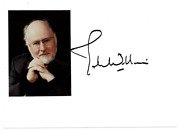 John Williams Signed Autographed Photo Amco Authenticated
