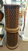 Vintage Pioneer Cs-05 Omni Directional End Table Speakers Tested No Shipping