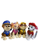 Paw Patrol Character 4 Piece Set Marshall Chase Skye And Rubble 8 Inch Plush