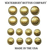 Union Pacific Railroad Double Breasted Blazer Button Set By Waterbury Buttons