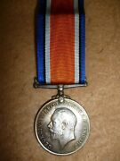 Ww1 British War Medal L/cpl. H.b. Le Clerco. 2nd S.a.i. South African