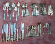 1847 Rogers Bros Heritage Silverware Service For 8 - 66 Pieces Free Shipping