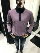 Legendary Brioni Long-sleeved Polo Shirt Size 54 100 Authentic And New