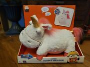 Despicable Me 3 Light Up Fluffy Unicorn Plush Magical Music Horn Lights New