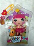 Lalaloopsy Littles Tippy Tumblelinaand039s Little Sister 7 New-in-box