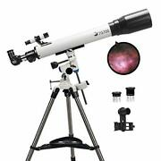 Telescopes For Adults 70mm Aperture, 700mm Focal Length Professional Astronomy