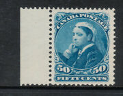 Canada 47 Extra Fine Never Hinged Left Margin Example With Certificate