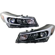 Set Of 2 Headlights Lamps Left-and-right 92102a7700 92101a7700 Lh And Rh Pair