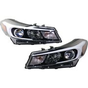 Set Of 2 Headlights Lamps Left-and-right 92102a7700, 92101a7700 Lh And Rh Pair