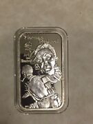 Norman Rockwell Greathouse Silver Bar Very Rare Mintage 20 Cancelled