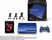 Playstation3 Gran Turismo 5 Racing Pack Limited Titanium Blue Console Fe0