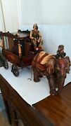 Vintage Barnum And Bailey Circus Wagon Collectible From 1920's