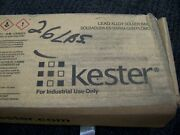 Kester Lead Alloy Solder Bar For Industrial Use Only Ultrapure 15 Bars