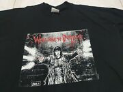 James Oandrsquobarr The Crow Welcome To Detroit Horror Movie Vintage T Shirt Xl