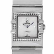 Omega Constellation 1528.76. Steel 24.0mm Womenand039s Watch