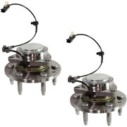 Set Of 2 Wheel Hubs Front Left-and-right For Chevy 23356816 Lh And Rh Gmc Pair