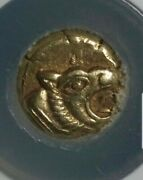 Ionia 1/12th Lion Head Electrum Stater Ngc Choice Xf Ancient Coin Rare
