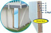 Replacement Waterwall Kit For Use With Kayak Pools® Choose Pool Size And Color