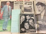 Duncan Edwards And Busby Babes+ England Actual Signed Collection Rare Aftal Uacc